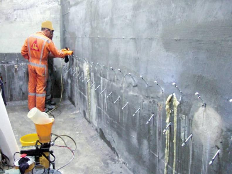 Инъектирование бетона цена москва купить бетон с ивантеевки